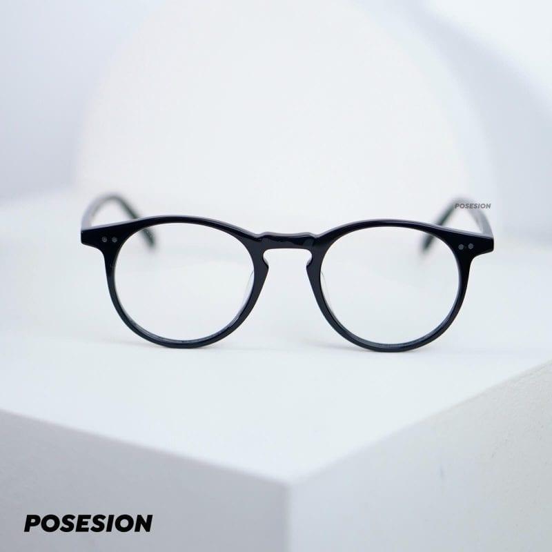 gọng kính nam posesion kyo đen 2
