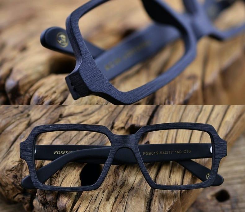 kính cận gỗ nam posesion fuku