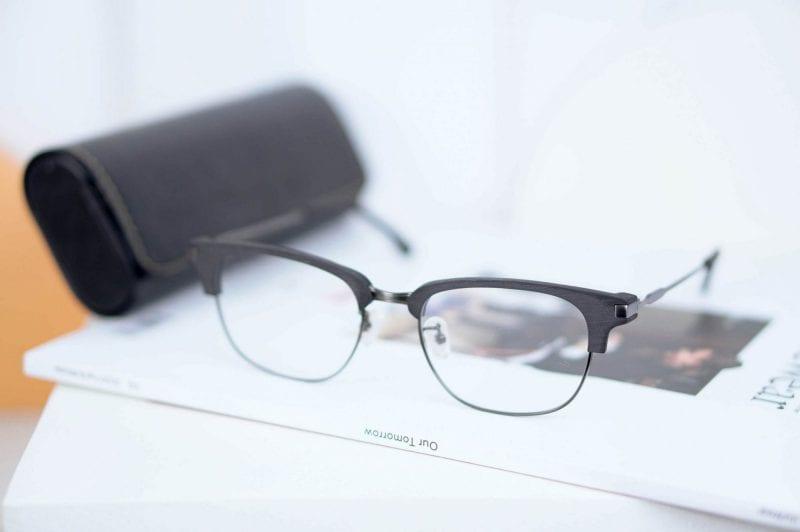 gọng kính cận nam Posesion Harry gray