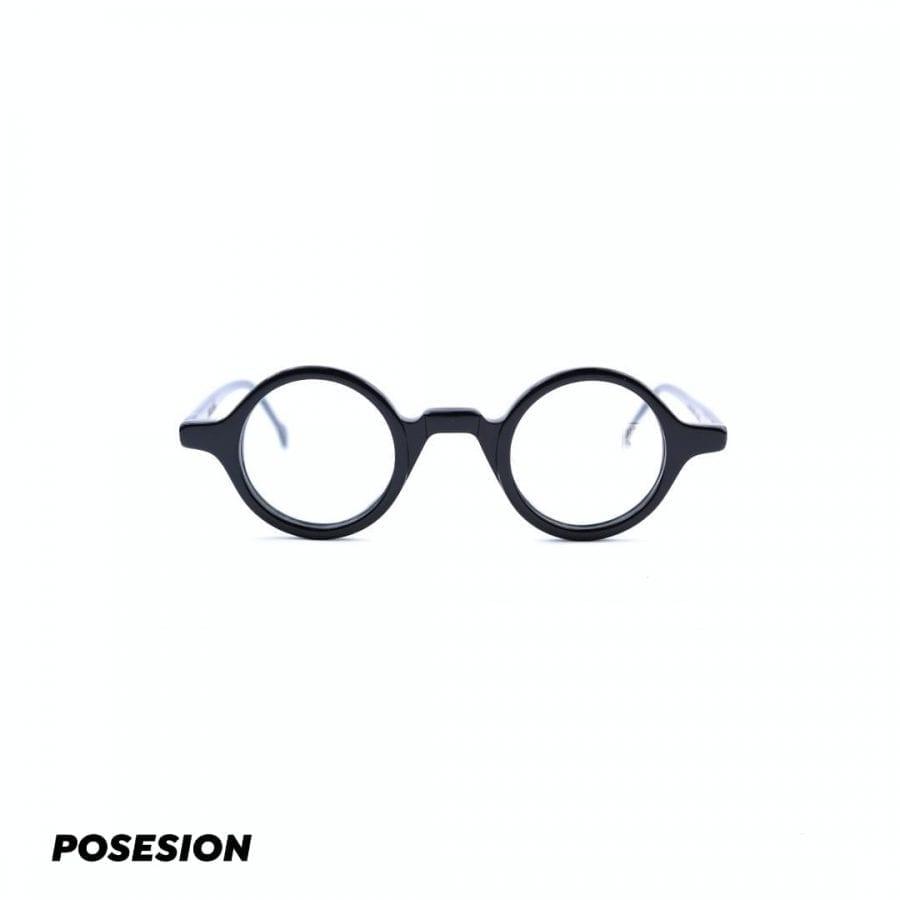 gọng kính cận posesion ito acetate đen