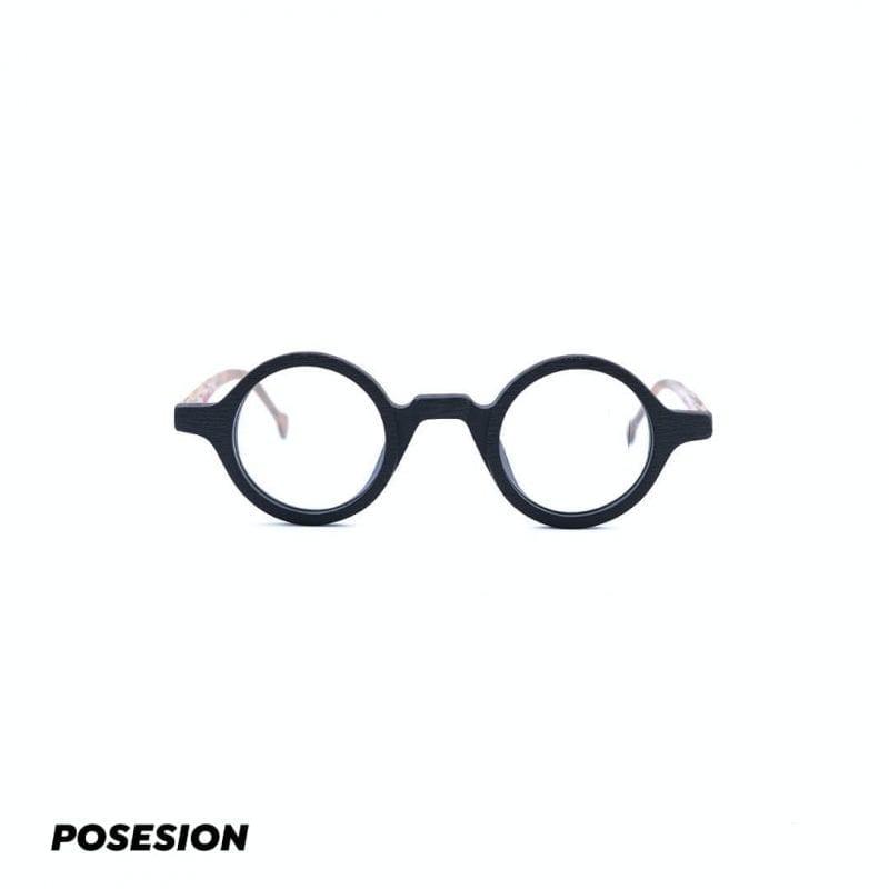 gọng kính cận gỗ posesion ito acetate tròn