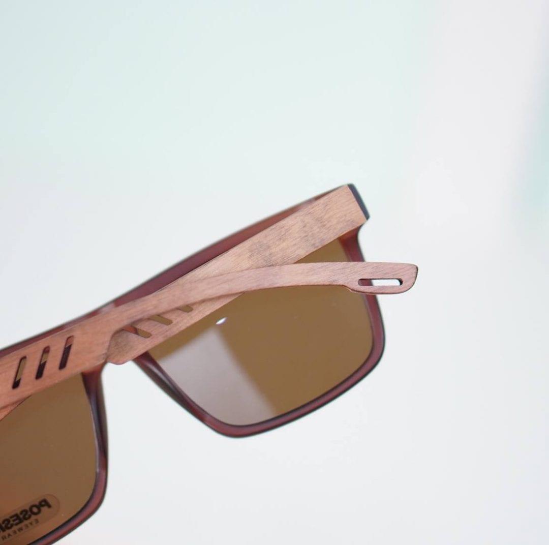 kính râm nam gọng gỗ tre posesion 3