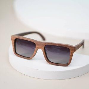 kính mát nam gọng gỗ tre 11
